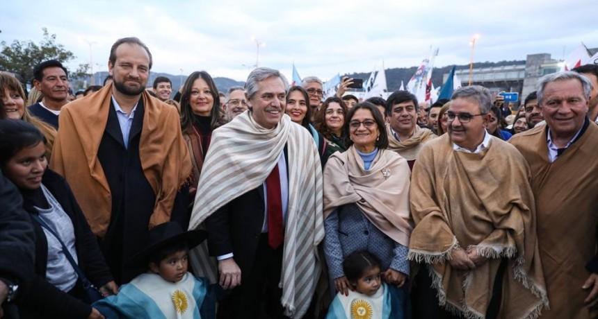 Alberto Fernández publicó un nuevo spot de campaña con imágenes de su visita a Catamarca