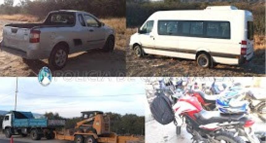 Secuestran 162 vehículos en Puestos Camineros