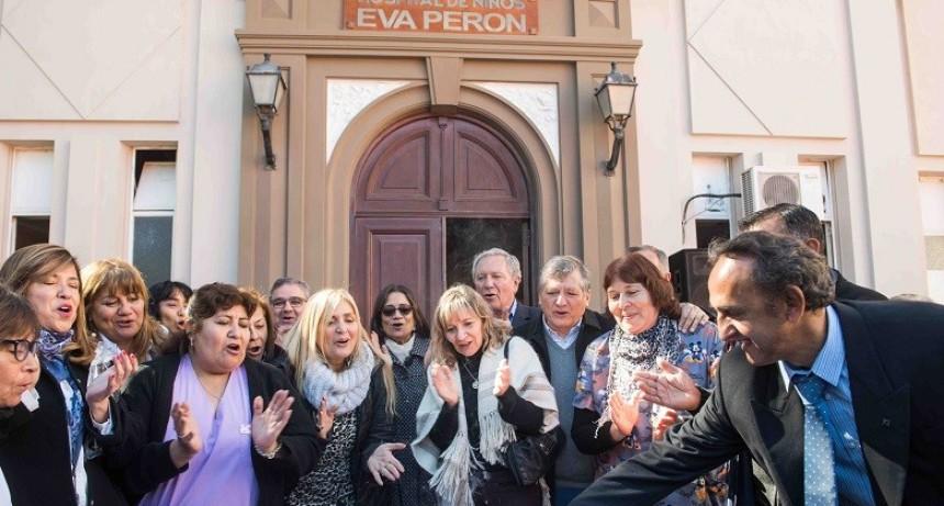 El Hospital de Niños festejó sus 70 años