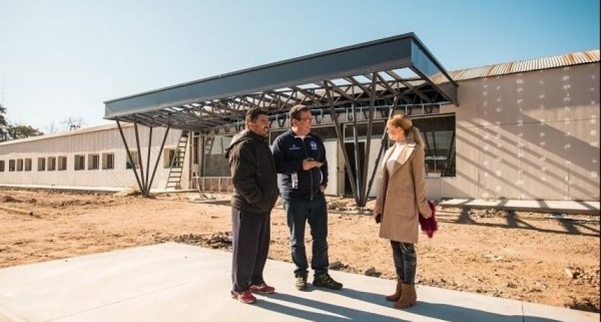 El nuevo complejo educativo municipal se inaugurará en septiembre