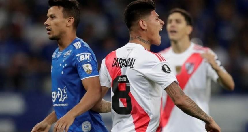 Gran clasificación de River en Copa Libertadores