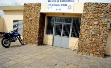 Quedo detenida la mujer Policia de la Comisaria Décima
