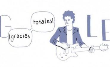 Google rinde homenaje a Cerati con un doodle por su cumpleaños