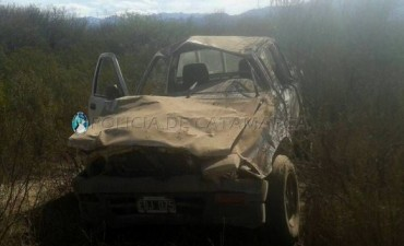Accidente automovilistico en Andalgalá