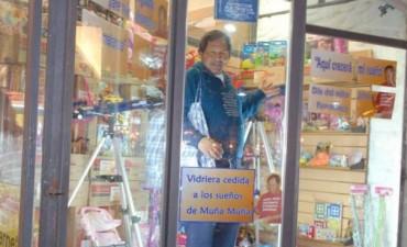 Muña Muña comenzó su popular campaña solidaria Dia del Niño