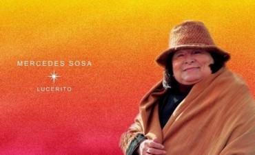 Lanzan álbum inédito de Mercedes Sosa