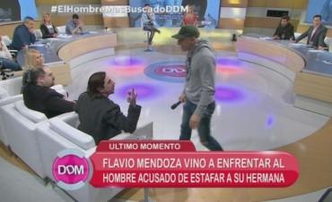 Escándalo: Flavio irrumpió en El Diario de Mariana