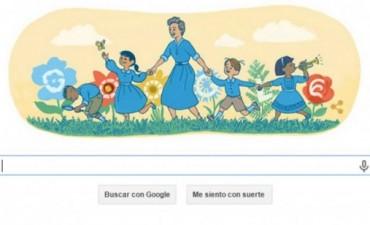 Google destaca hoy el trabajo de la maestra Olga Cossettini