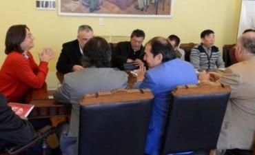 Lucía se reunió con inversionistas chinos