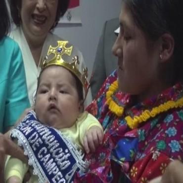 PERÚ: Bebé de Kañaris ganó concurso de