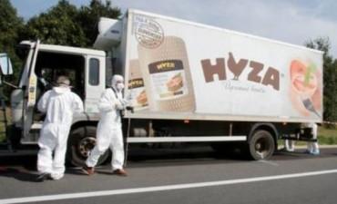 Encuentran un camión lleno de inmigrantes muertos en Austria
