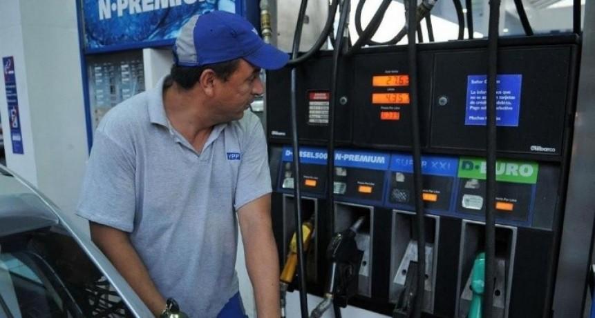 A LLENAR EL TANQUE: La subas en los combustibles son superiores al 5%