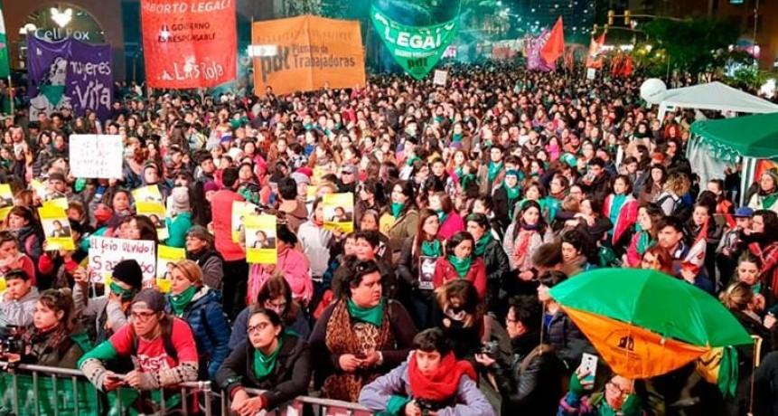 Marcharon por el ABORTO y MALDONADO