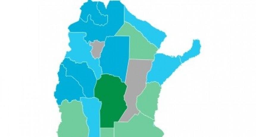 Mapa verde y celeste: cómo votará cada provincia por la legalización del aborto