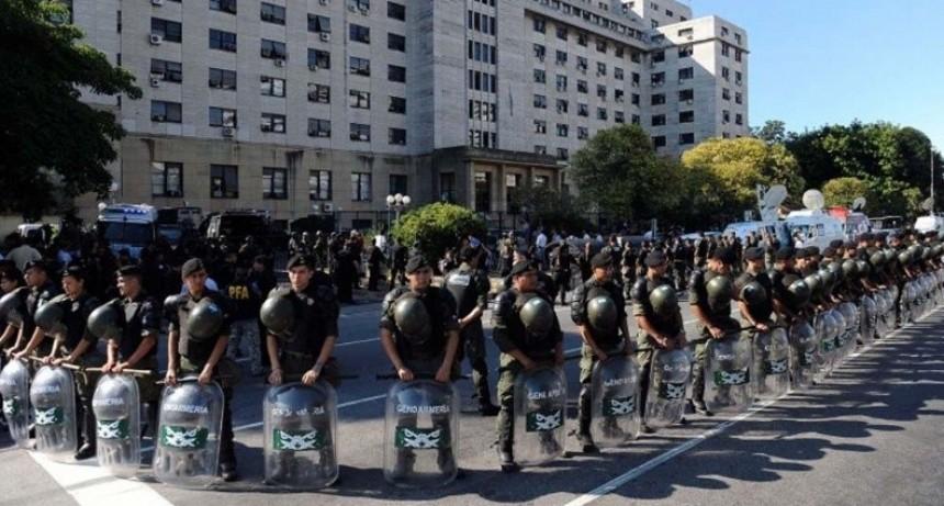 Cristina Kirchner ya está en Comodoro Py para declarar