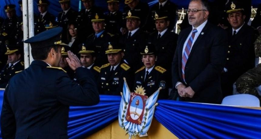 Acto central por el 195 Aniversario de la Policía de Catamarca