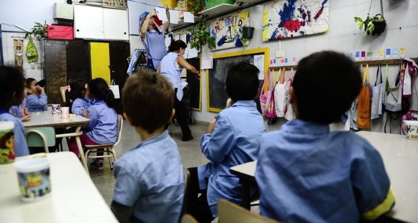 Comenzarían a titularizar a docentes mayores de 40 años del Nivel Inicial y Primarios