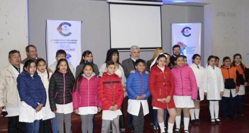 Segundo Encuentro Provincial del Parlamento Infantil