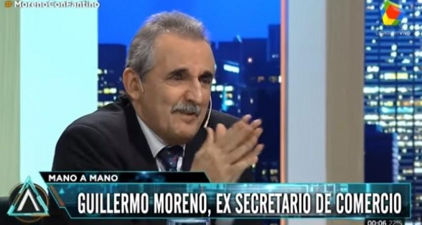 SOLO CRECIO LA OLIGARQUIA: Moreno comparó a Macri con el final de Alfonsín y De la Rúa