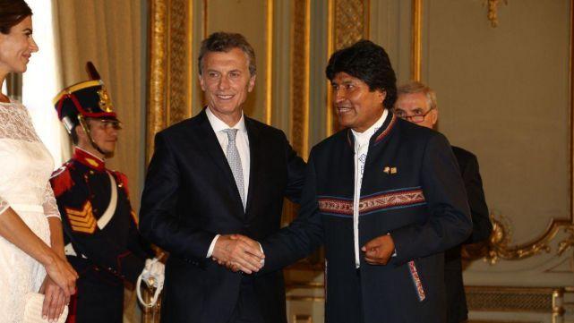 Evo Morales estalló contra Macri por la