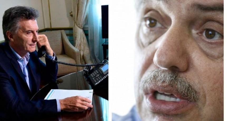 Alberto Fernández y la charla con Macri: Compartimos la preocupación por los argentinos