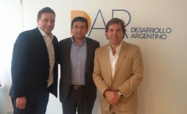 El secretario de Gabinete Guillermo Ferreyra, se reunió con su par bonaerense