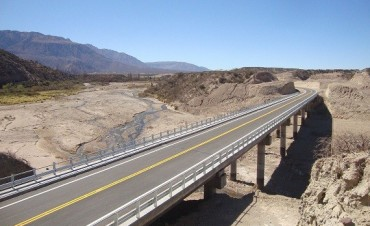 El viernes se habilita oficialmente la nueva Ruta 40, entre El Eje y Las Cuevas