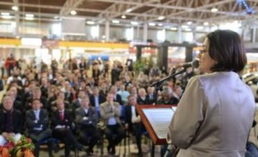 Lucía dejó formalmente inaugurada la Expo Productiva 2015