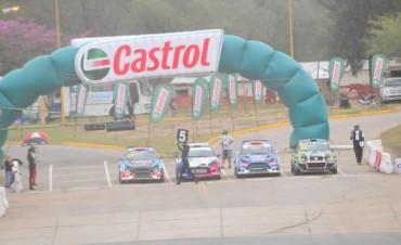 Villagra y Monarca, los ganadores en el Rallycross CARX en Catamarca