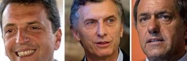 Scioli: se bajo del debate presidencial y pide una ley para discutir con sus rivales