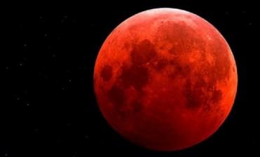 ¡Atentos al cielo! En Argentina se verá una súper Luna teñida de rojo
