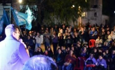 Ferreyra lanzó su campaña en Fray M Esquiú