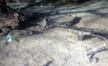 Santa María el incendio dañó transformadores y cableado