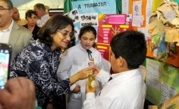 Lucía visitó la Expo Ambiente 2015