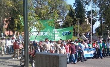 Manifestación de la Unión de Gremios en Acción de Catamarca