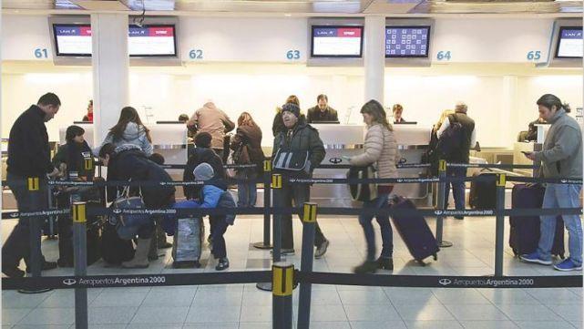 Caos mundial en las aerolíneas por falla del check-in