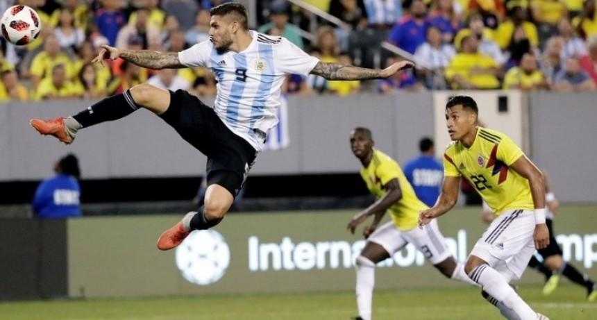 Argentina no pudo con Colombia