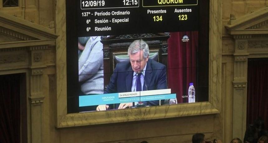 De Carrió a Kicillof, quiénes fueron los diputados ausentes en la votación de la emergencia alimentaria