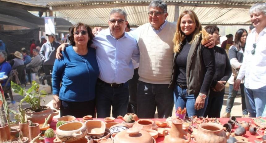 Paulón y Jalil participaron de la feria de intercambio de semillas nativas y criollas