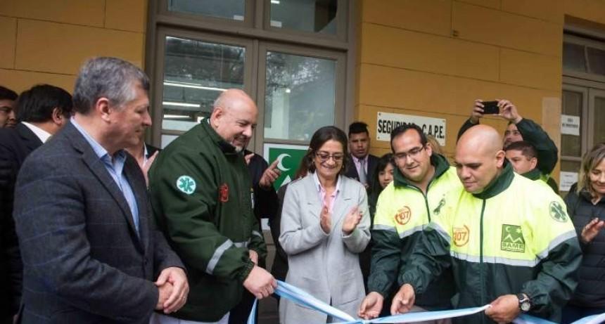 Corpacci inauguró las nuevas oficinas del SAME