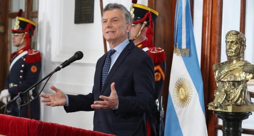 Mauricio Macri:  Está en juego en qué Argentina y con qué valores queremos vivir