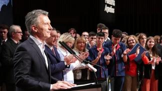 Macri: No hay herramienta más potente para luchar contra la pobreza que la educación