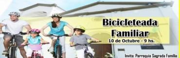 Invitan a participar de una bicicleteada familiar