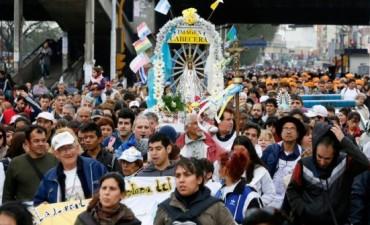 Luján: esperan miles de fieles en la peregrinación