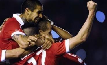Independiente fue contundente y goleó a River en el clásico
