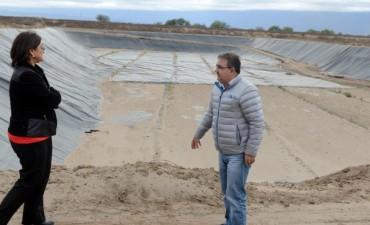 Lucía recorrio  planta de tratamiento de residuos junto al Intendente Jalil
