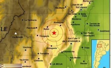 Un sismo de casi 4 grados se registró esta madrugada