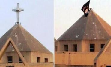 Terroristas del Estado Islámico crucificaron a un niño cristiano de 12 años y a su padre