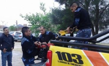 Entrega de elementos para las Unidades Especiales de la Policía
