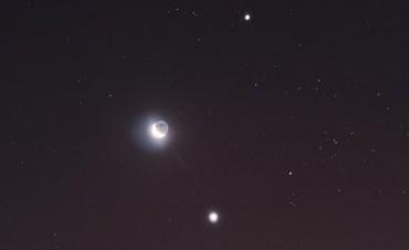 La Luna se alineará con Marte, Venus, Júpiter y Mercurio